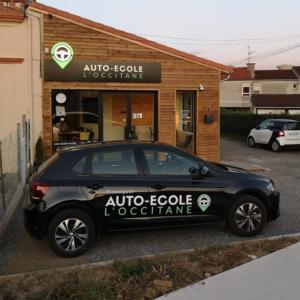*ENSEIGNE | Lettrage Lumineux – Auto-Ecole L'Occitane