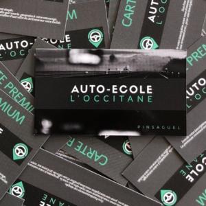 *PRINT | Impressions Cartes – Auto-Ecole L'Occitane